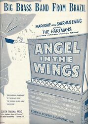 Elaine Stritch Angel In The Wings Paul And Grace Hartman 1947 Sheet Music