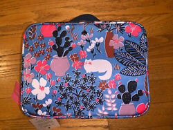 Kate Spade Jae Garden Posy Cat Floral Cosmetic Travel Bag NWT $55.75