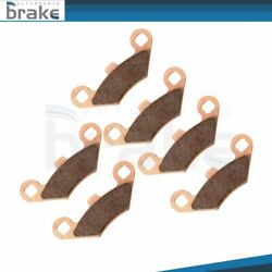 Front And Rear Sintered Brake Pads Fits Polaris Sportsman 400 4x4 Ho 2008-2010