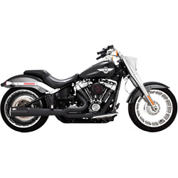 Vance And Hines 47589 - Hd Exhaust 2-1 Black Milwaukee-eight Soft Tail