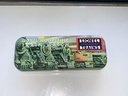 Lionel Legendary Trains Novelty Collectible Train Watch In Tin Nos Never Worn