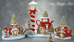Ceramic Bisque Ready To Paint Christmas Elf Fairy Village Brand New Lighted