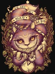 CHESHIRE CAT Relaxed Fit T Shirt