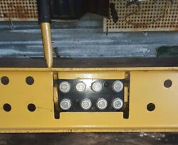Multifaster Quick Release Coupling Multiconnection W Mount 8 Hydraulic Line
