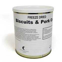Ftf Technologies Freeze Dried Biscuits And Gravy 25 Year Shelf Life Gallon Can