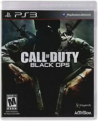 Call Of Duty Black Ops For Playstation 3 Ps3 Very Good 2z