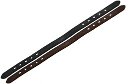 Derby Originals 21 Double Stitched Leather Breakaway Halter Crown - Two Colors