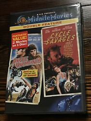 Angel Unchained / Cycle Savages Dvd New - Don Stroud, Luke Askew, Larry Bi..