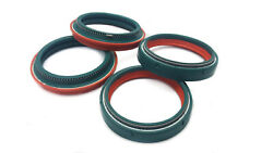 Skf Dual Compound Fork And Dust Oil Seals For Honda Crf 450 R E 2014