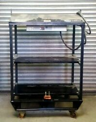 Used 4 Pak Rack For Miller Xmt With Fuse Box And Primary Lead