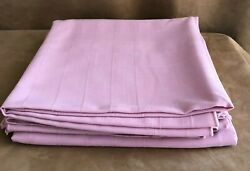 52 Set Of 3 Pink Square Cloth Tablecloth Table Linens Lot Card Dining Table