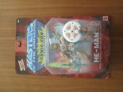 Mattel Masters Of The Universe He-man 2001 Comic-con Exclusive New 1 Of 1000