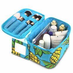 Makeup Travel Cosmetic Bag Case Pouch Toiletry Zip Wash Organizer Pineapple $9.19