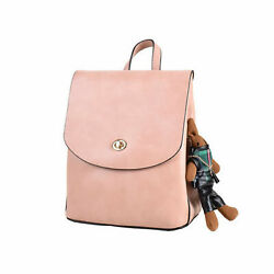 Women Small Antitheft Backpack Purse Checkered SchoolBag Girl Shoulder Handbag $16.89