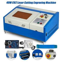 40w Co2 Laser Cutting Engraving Machine 3020cm 0-350mm/s High Quality And Durable