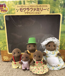 Sylvanian Families / Calico Critters Vintage Toy's Dream Project Mole Family