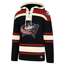 Nhl Hoody Columbus Blue Jackets Hooded Pullover Lacer Jersey Hooded Sweater