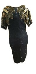 Black And Gold Evening Dress $150.00