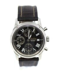 Breitling Grand Premier Chronograph Stainless Steel Watch 13024.1