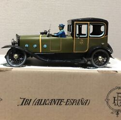 Rare Paya Tin Toy Ref.841 Coche Coupe Limousine 1923 From Japan Used
