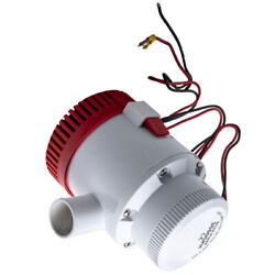 3500gph Boat Bilge Pump For Marine Water Yacht Submersible 1-1/2 Outlet