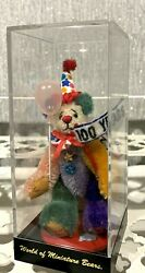 World Of Miniature Bears Forever Yours 100 Years Bear Ltd Edition In Case