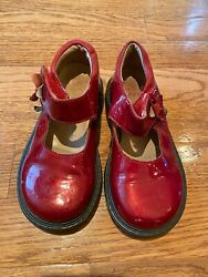 red patent leather girls shoes by Elefanten size 25 $15.00
