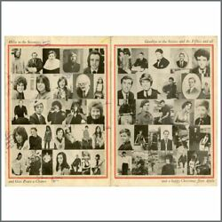The Beatles 1969 Apple Records Christmas Card Uk