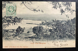 1912 Fiji Real Picture Postcard Cover To Vienna Austria Hospital View