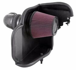 Fits Chevy Camaro 12-15 6.2l Kandn 63 Series Carbon Aircharger Cold Air Intake
