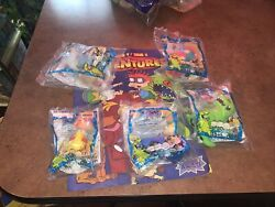 Rugrats 1998 The Movie X Burger King Kids Club Set Of 5 Complete W Comic