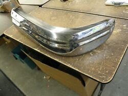 Nos Oem Ford 1949 Lincoln Front Bumper End Section Chrome Cosmopolitan