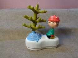 2002 Ufscarl's Jr Linus And Tree Push Button To Collapse Tree Figure Cb616