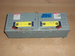Square D Qmj Qmj364t 200 Amp 600v Fusible Fused Panelboard Switch Ser E2 Flaw