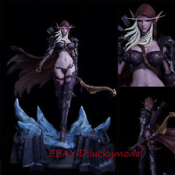World Of Warcraft Wow Sylvanas Windrunner 1/5 19.6 In. Statue In Stock New