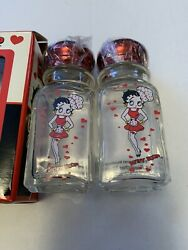 Betty Boop 2005 Salt And Pepper Shakers, New Old Stock Mib Approx. 4 Tall