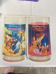 Rare Authentic Burger King Disney 1994 Collector Series Cups Store Advertisement