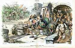 Kilts Bagpipes New York Governor David Hill Spoils System Castle Tammany Hall
