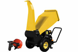 Champion 4 Inch Wood Chipper Shredder Portable Wood Chipping 8.2 Kw