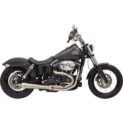 Bassani Road Rage Iii Exhaust Sys. 92 H-d Dyna Glide Cust.fxdc
