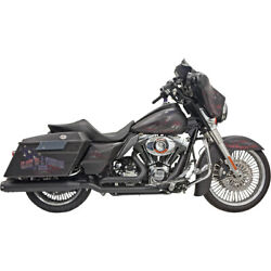 Bassani Dual Down Under Blk Sys. For 16 H-d Road Glide Ultra-fltru