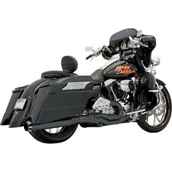 Bassani Road Rage Ii B1 Pwr 2-1 Sys. Blk For 96-06 H-d Road King-injec.flhr-i