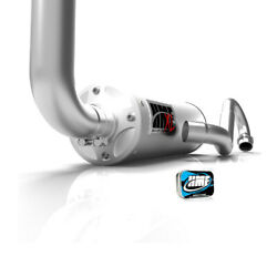 Hmf Yamaha Grizzly 660 2002 - 2008 Swamp Xl And Snorkel Full Exhaust + Jet Kit