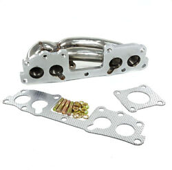 Turbo Exhaust Manifold Stainless For 83-88 Toyota Pickup 4runner Hilux 22rte New
