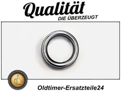 Aluminium Ring Rosette With Seal Over Mercedes W116 Ignition Barrel Early