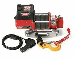 Warn 71550 9.0rc Rock Crawling Winch 9000lb W/ 50ft Synthetic Rope