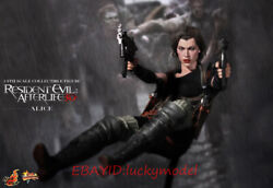 Ht Hottoys 1/6 Resident Evil Movie Alice Battle Dress Action Figure In Stock New