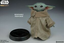 Star Wars - The Mandalorian The Child Baby Yoda Life Size 16.5 New In Box