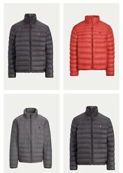 Polo Menand039s Packable Down Jacket Sm Med Lrg Xl Xxl Nwt Free Shipping