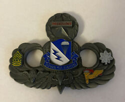 507th Infantry Airborne Normandy Europe Commanders For Excellence Coin